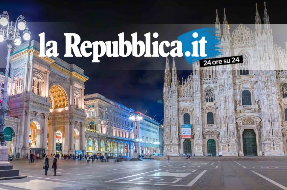 La Repubblica / video Time Lpase Hyperlapse Milano