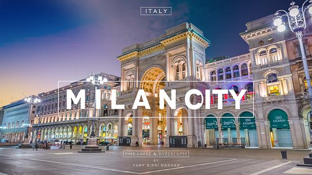 Milano City Hyperlapse Time Lapse Italia